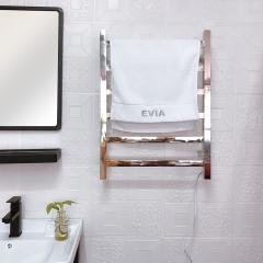 EV-6S Bathroom Wall Mounted Electric Towel Rack Stainless Steel Heated Towel Rail