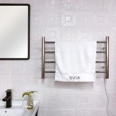 EV-4R EVIA Wall Mounted 304 Stainless Steel Heated Towel Rail Bathroom
