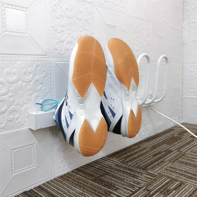 EV-40 2 Pair White Wall Mounted Ski Boot Dryer Electric Shoe Warmer