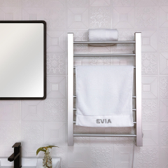 EV-120-1 Bathroom Ladder Aluminum Electric Towel Rack Wall Mounted Heated Towel Rail