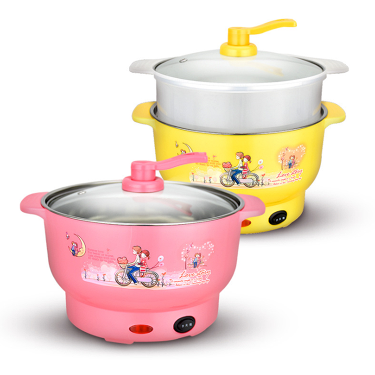 20CM-High-Quality-Cute-Kitchen-Appliance-Electric-CaldronSkillets-with-Steamer-LBEC0001