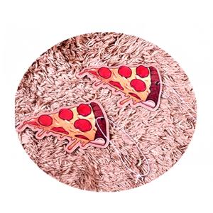 Pizza Car Freshener Customized Logo