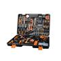LOMVUM Hand Tool 20PCS QJ Multi Functional Professional Electric Cordless Impact Drill Tool set 12V 20V