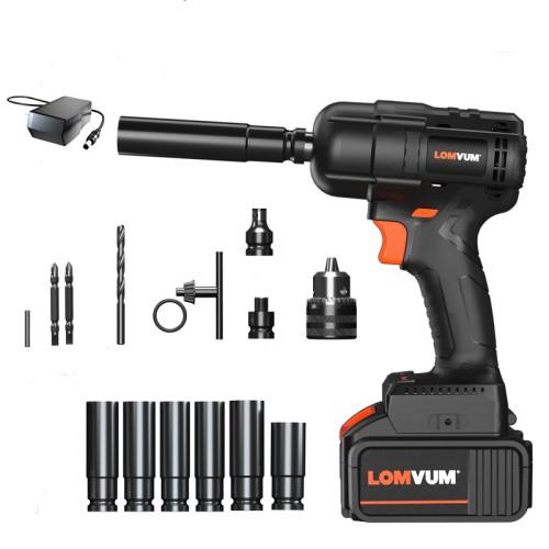 Lomvum 280NM Car Repairing Cordless Electric Brushless Impact Wrench