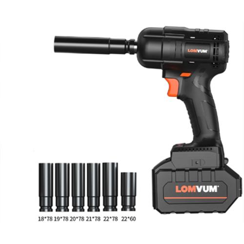 Lomvum 300NM Car Repairing Cordless Electric Brushless Impact Wrench