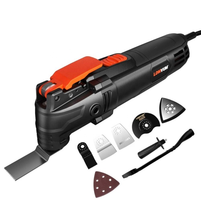 LOMVUM multi-function electric saw multi purpose renovation other power tools oscillating multi tool