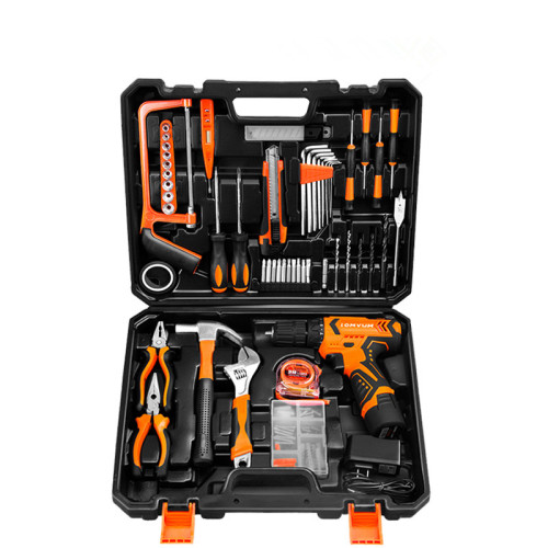 12V Cordless Drill screwdriver drill combo kit with drill bit and driver bit and two battery