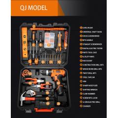 Hand Tool 20PCS QJ Multi Functional Professional Electric Cordless Impact Drill Set Tool Kit