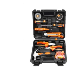 Multi Function 11PCS Hand Tool Set Case With Hammer Pliers and Vise