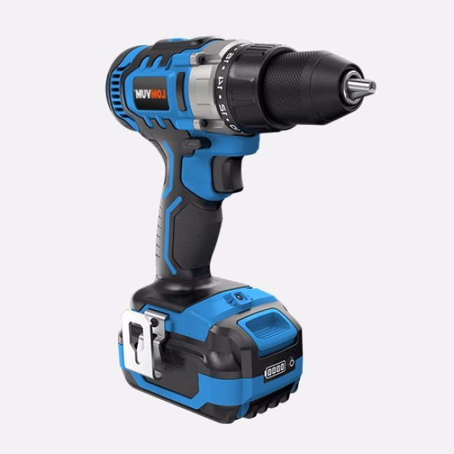 18V Brush li-ion battery DIY power tools cordless drill with impact function drills