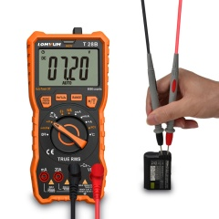 Lomvum Manual automatic range digital mini multimeter 6000 counts backlight AC/DC