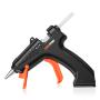 Lomvum 3.6V Black Mini Cordless Hot Melt Glue Gun With Glue Stick Home DIY tools set