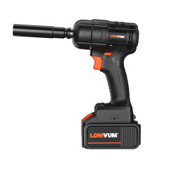 LOMVUM Repairing Car Tools 280NM Rechargeable Battery Frameless Electric Impact Wrench for Screw Driving
