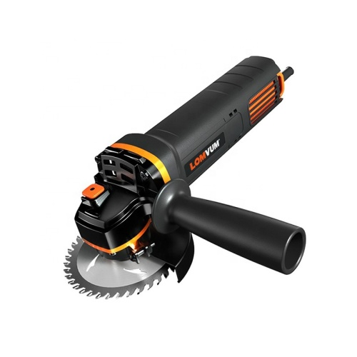 LOMVUM Portable Electric Angle Grinder 100mm 1400W power tools angle grinder with disc