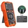 LOMVUM Digital Multimeter NCV HD Backlit Voltage Meter Portable Handheld AC/DC