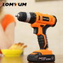 LOMVUM DIY 12V 20V 30NM Power Toos Impact Cordless Drill