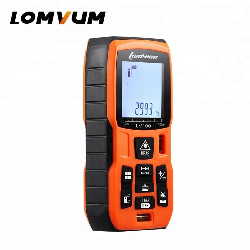 Lomvum LVB 50M 60M 80M 100M Digital Measurement Laser Range Finder Distance Meters