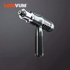 LOMVUM New Electric Rivet Multifunction Riveting Drill Adapter Gun Auto Rivet Electric Nut Gun Tool Cordless Electric Drill Tool
