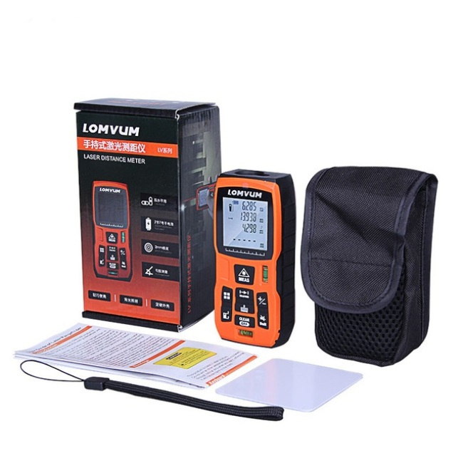 LOMVUM LVB 40m/50m Measure Tape Laser Ruler Digital Distance Meter Measure Range Finder