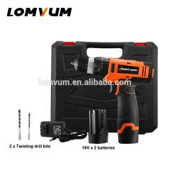 LOMVUM 12V 16V 20V Cordless Impact Screwdriver For Power Tolls Drilling