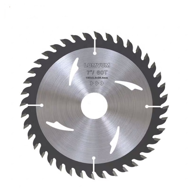 LOMVUM Alloy Tipped Wood Cutting Circular Saw Blade for Wood Laminate Board  Cutting