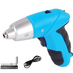 Lomvum USB charging Multi functional Drill  electric  power screwdriver set Mini cordless screwdriver