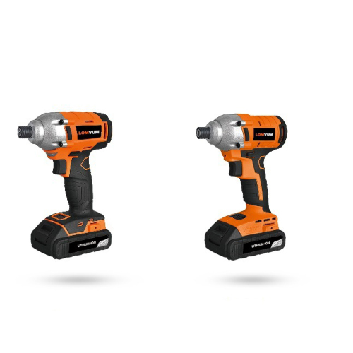 20V 340NM 1/2 Cordless Impact Wrench with  4Ah lithium battery Brushless