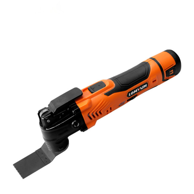 Lomvum Power Tools 12V  Renovator Electric Cordless Oscillating Multi Tool Sanding Scraping Polishing With Saw Blades