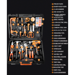 Gold Supplier China Hand Tool 27PCS Multi Functional Professional Electric Drill Tool Kit
