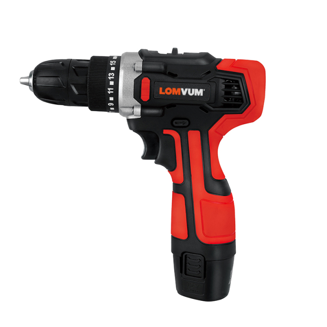 Power Tools Li-Ion Battery Hand Rechargeable Cordless Driver Drill