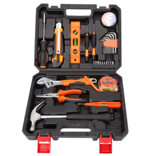 21PCS Hand Tool Sets For Household  Multi Function and Electrician Repair Hardware Tool Kit