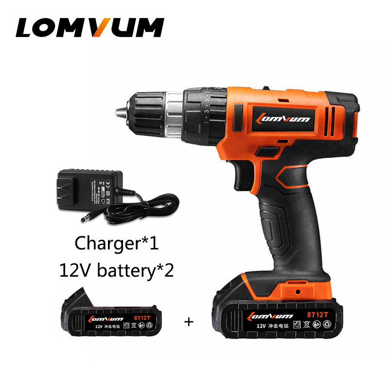 Chinese Power Tools 12V DC Electric Hand Screwdriver With Li Ion Battery