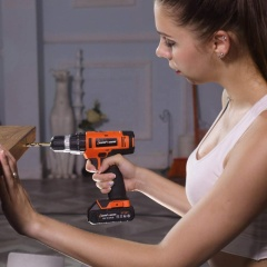LOMVUM 20V Rated Voltage 1.5 Ah CE Certificate Battery Power Craft Cordless Drill
