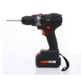 24V cordless impact drill with powerful battery 3.0Ah
