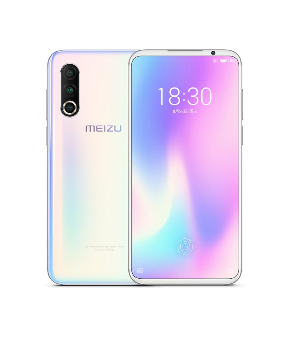 Original Meizu 16S Pro 6.2Inch FHD+ NFC Snapdragon 855 plus In-screen Fingerprint NFC 48MP + 20MP + 16MP Rear Cam 3600mAh Mobile Phone