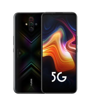 "Brand New Nubia Play 5G Game 5G Mobile Phone 6.65"" 8GB 128GB 5100mAh 30W Snapdragon 765G 48MP Quad Camera NFC 5G Smartphone"