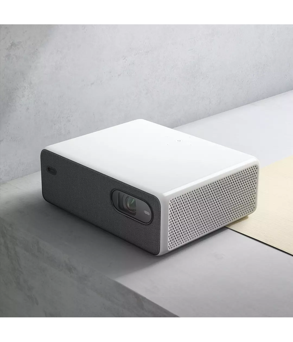 2020 Xiaomi Mijia Laser Projector 1080P Full HD 2400 ANSI Lumens Resolution 150 Inch Screen Wifi Android 9.0 Support 4K 8K Dual 10W Speaker