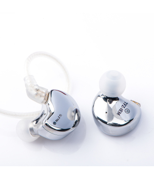 TFZ NO.3 Ti Dynamic Driver 0.78 mm 2pin IEM Transparent HiFi Bass Noise Cancelling Earbuds