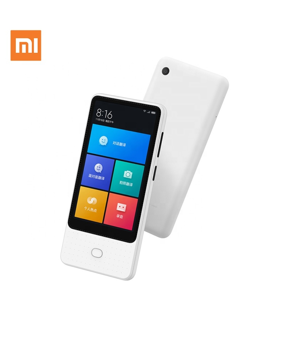Xiaomi Voice Translator Support 18 Languages 6 Microarray AI automatic translation 3 internet access methods 4.1 inch large screen photo translation