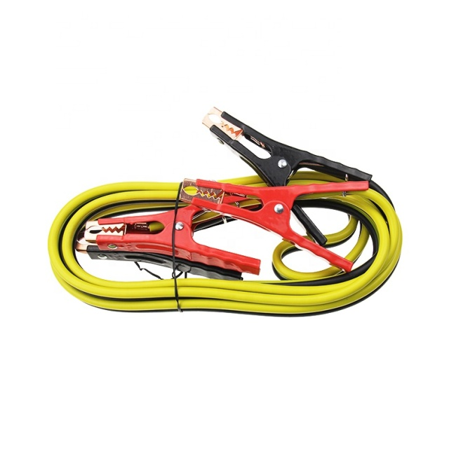 GA 12FT Heavy Duty CCA PE Booster Cables Power Start Jumper for Car Van