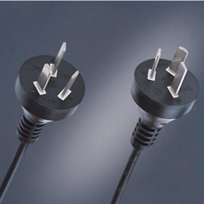 10A 250V 3 pole plug AC power cord