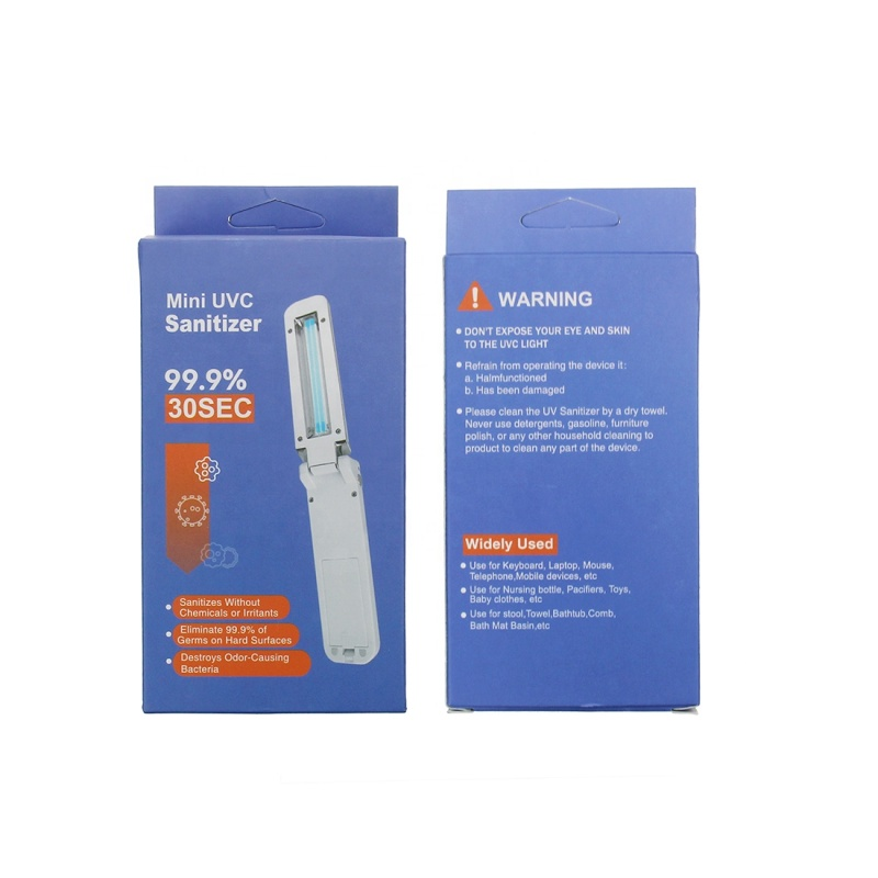 Wholesale Portable Handheld Household UVC Lamp Sterilization Stick With Gyroscope