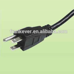Japanese 7A/12A/15A 125V Power Cord with three pins plug