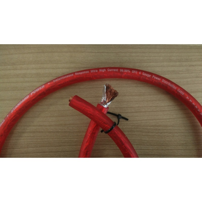 Customized Instantaneous Response Ultra High Current 4 Gauge Power Distribution Cable