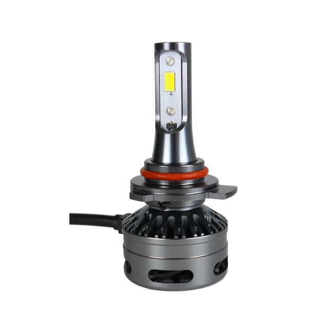 Three color led headlights E9 H1 H7 H8/H11 9005/9006 9012 LED headlight bulb Tri-color LED headlight