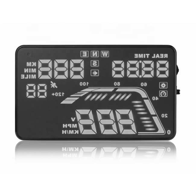 FK-Q7 HUD vehicle head up display car head up display car hud speedometer overspeed warning
