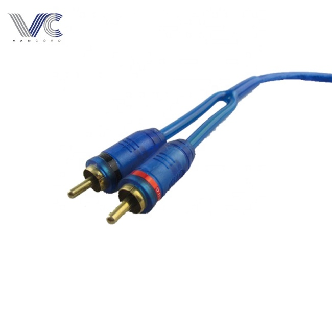 high quality 1F/2M car Y splitter audio cable RCA cable