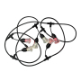 new developed festival rgb wifi control led string light outdoor christmas decoration