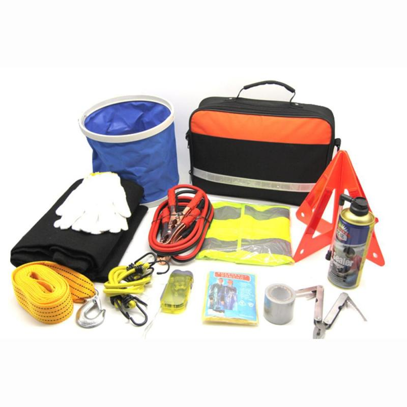 portable car supplies set combination car-mounted multi-function rescue vehicle emergency kit