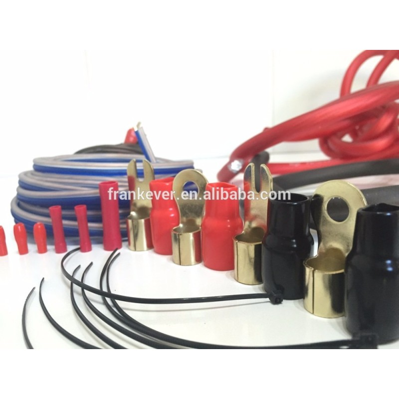 4 awg car amplifier wiring kit audio power amplifier kits